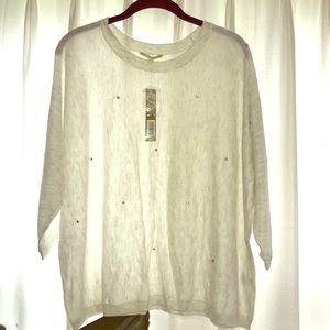Gianni Bini embellished sweater NWT